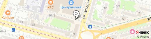 Юлмарт на карте Уфы