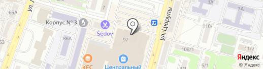 Чехлофф на карте Уфы