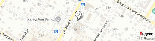 Строймаш-Башкортостан на карте Стерлитамака