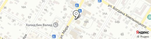 Нур на карте Стерлитамака