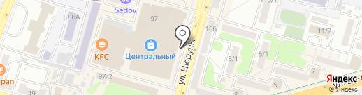 Мастерская по ремонту часов на Центральном на карте Уфы