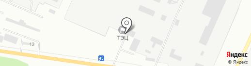 Стерлитамакская ТЭЦ на карте Стерлитамака