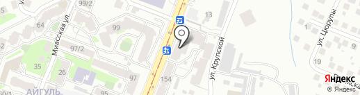 Круассан на карте Уфы