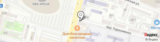 Friends club на карте Уфы