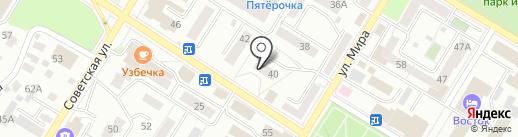 Пельместо на карте Стерлитамака