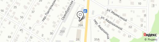 БашМГС на карте Стерлитамака