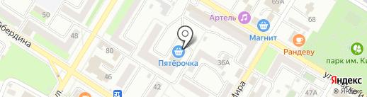 Эконом на карте Стерлитамака