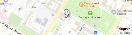 Европа Плюс, FM 100.9 на карте Стерлитамака