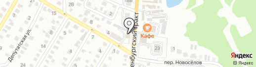 Аркаим на карте Стерлитамака