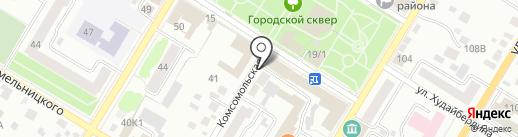 ВОЕНТОРГ №1 на карте Стерлитамака