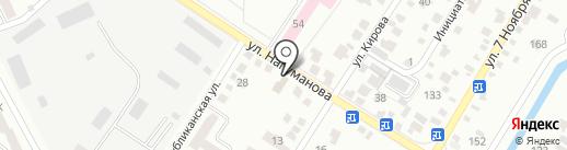 Ремонтная мастерская на карте Стерлитамака