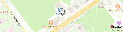 Фойер на карте Перми