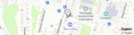 БАШКИРСКАЯ НЕФТЕСЕРВИСНАЯ КОМПАНИЯ на карте Уфы