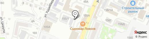 АЦ СваркаТехСервис на карте Уфы