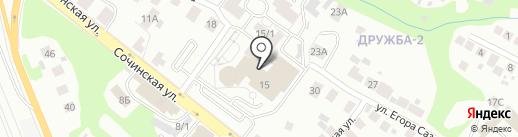 Вкусная столовая на карте Уфы