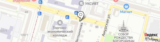 Х-картридж на карте Уфы