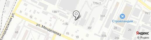 Пыж на карте Стерлитамака