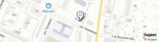 Уфимский государственный авиационный технический университет на карте Стерлитамака