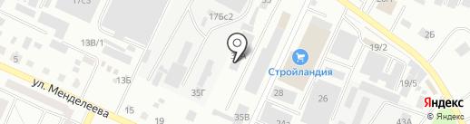 Завод сваебойного оборудования на карте Стерлитамака
