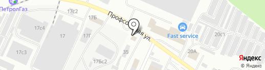 АКЦЕНТ-СТР на карте Стерлитамака