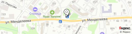 Индюшка на карте Уфы