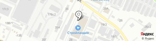 Банкомат, Уральский банк реконструкции и развития, ПАО на карте Стерлитамака