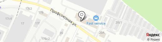 Стерлитамакский железобетонный завод на карте Стерлитамака
