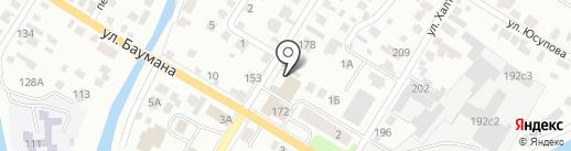 Башкирское специализированное ремонтно-строительное управление противопожарных работ, ЗАО на карте Стерлитамака