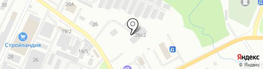 Инструмент-центр на карте Стерлитамака