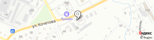 Стерлитамакский Центр Заготовки Металлов, ЗАО на карте Стерлитамака