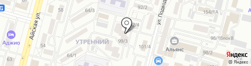 Уникум на карте Уфы