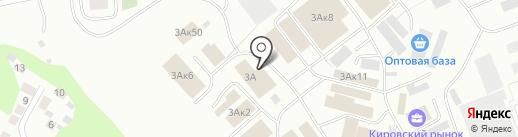 Магазин товаров для сада и огорода на карте Уфы