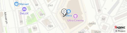 Сестрица на карте Уфы