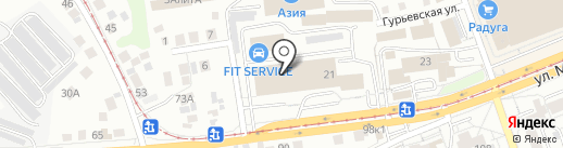 GrandKredit на карте Уфы