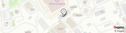 Магазин кондитерских изделий на карте Уфы