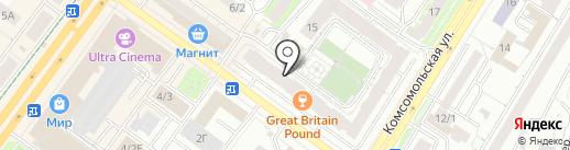 Caparol Center на карте Уфы