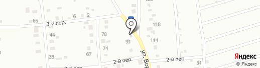 Шиномонтажная мастерская на ул. Ворошилова на карте Ишимбая