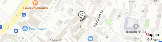 ИСГ Экострой на карте Уфы