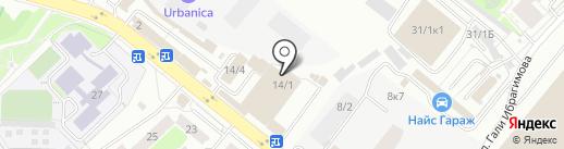 Автоматизированный Комплекс на карте Уфы