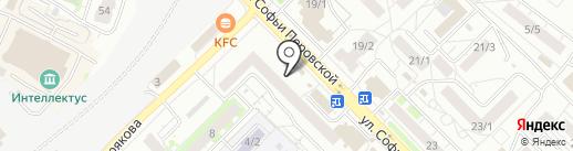 Магазин товаров для рукоделия на карте Уфы