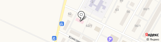 Алексеевский сельский совет на карте Алексеевки