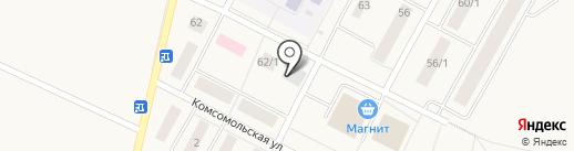 Алексеевский, ГУСП на карте Алексеевки