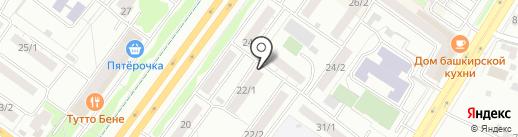 O`Nail на карте Уфы