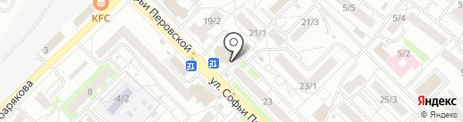 Мега Флора-Уфа на карте Уфы