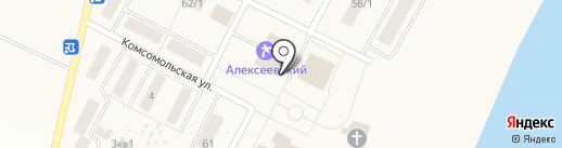 Участковый пункт полиции №1 на карте Алексеевки