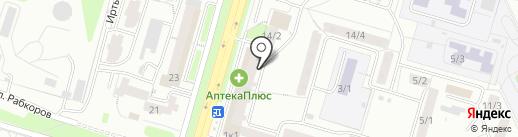 Савап на карте Уфы