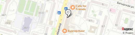 Гранат на карте Уфы