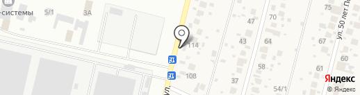 Тёмное & светлое на карте Алексеевки