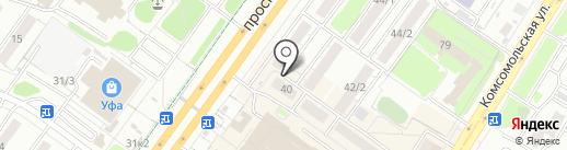 Leozette на карте Уфы