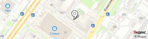 Мастерская красоты Венеры Булатовой на карте Уфы